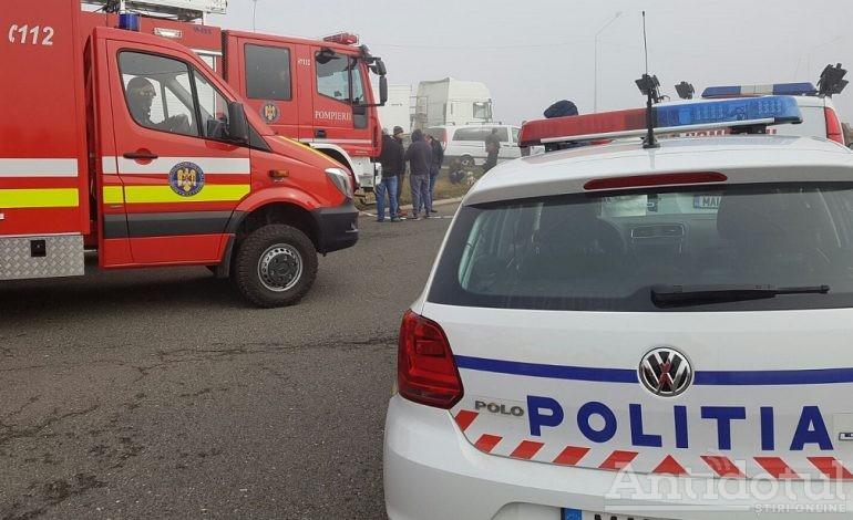 Anchetă dificilă în cazul unui accident cu doi morți: Poliția nu știe cine a condus mașina care s-a făcut praf în satul Ciureștii Noi