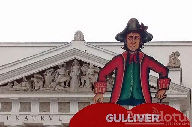 Teatrul GULLIVER deschide seria spectacolelor desfășurate în aer liber