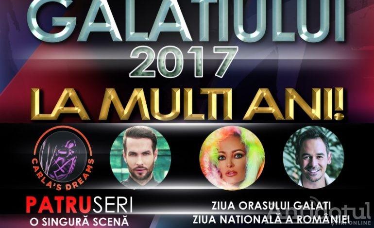 Programul complet al concertelor de Zilele Galațiului