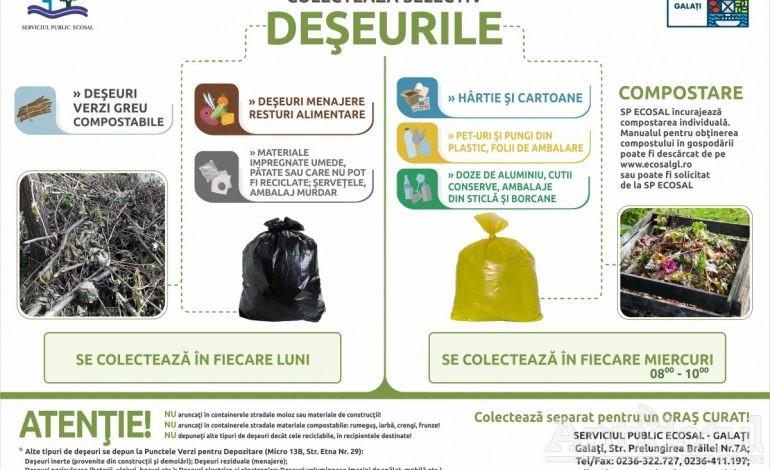 Ecosal lansează un nou proiect de colectare selectivă a deșeurilor