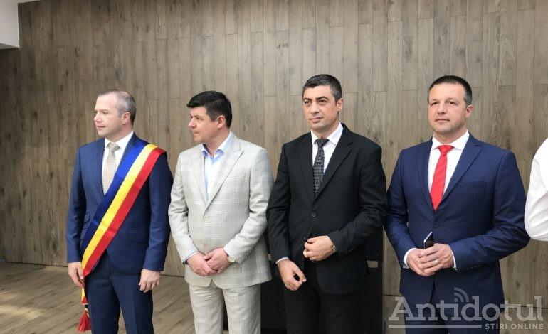 """VIDEO: Pucheanu dezvăluie unde va fi noul sediu al asociației intercomunitare """"Dunărea de jos"""""""