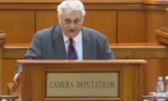 Deputatul Bacalbașa vidanjologând în direct la TV Galați