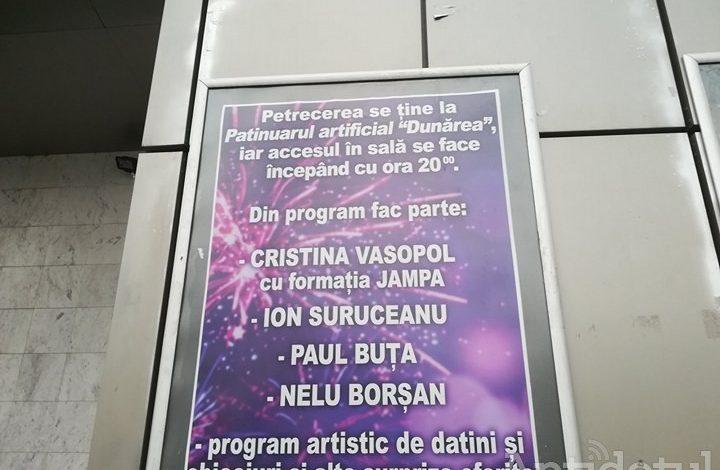 Întrucât la Patinoar e frig, Revelionul Pensionarilor se va ţine anul acesta la Patinuar