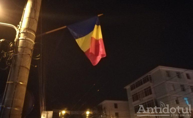 De Ziua Națională a României, gălățenii au sărbătorit în beznă