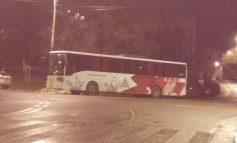 Rușine, rușine, rușine să vă fie: autocarul lui Dinamo a parcat ilegal pe strada Navelor din Galați