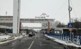 VIDEO/Protestul spontan de la combinatul siderurgic a început la ora anunțată