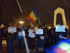Proteste la Galați