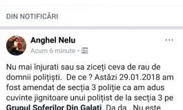 Pace, pace între două dobitoace: un gălățean a fost amendat pentru că a înjurat un polițist pe Facebook