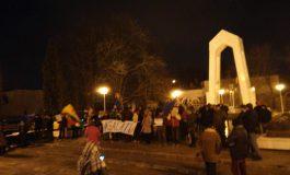 VIDEO/Protest la Galați: Unde-i statul paralel, vreau să emigrez în el!
