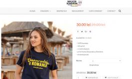 """""""Basarabia e România"""", sută la sută din bumbac şi cu croială tubulară"""