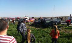 Tragedie de Paște. Trei persoane au murit în urma unui accident produs la ieșirea din Șendreni