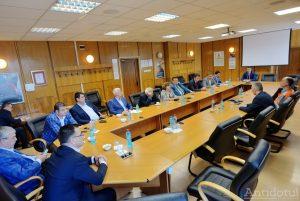 Întîlnire ArcelorMittal - parlamentarii gălățeni