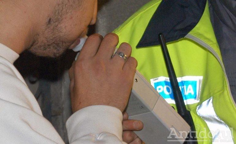 Hîc! Un şofer gălăţean a fost prins cu o alcoolemie record: 2,9 la mie!