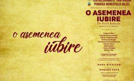 Timp liber: Teatrul Dramatic Fani Tardini lansează în acest week-end, premiera cu numărul 5...!!!