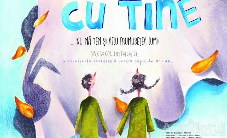 """Incursiunea în lumea poveştilor continuă la Teatrul de Păpuşi """"Gulliver"""" cu spectacolul """"De mână cu tine"""""""