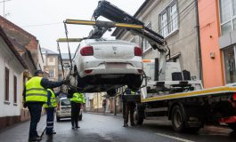 VIDEO: Avem regulament de ridicare a mașinilor! Dar n-avem și cu ce! Probabil că nici unde!
