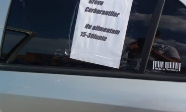 Revolta şoferilor / A început greva carburanţilor în România