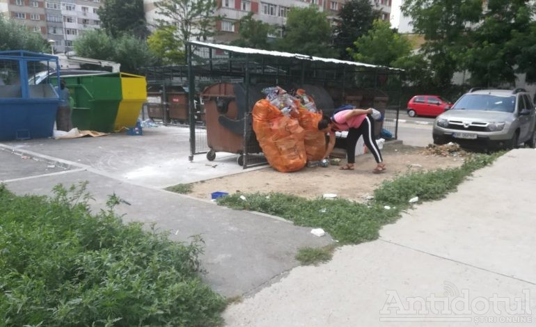 VIDEO/În orașul Galați există un loc de depozitare a gunoiului dotat cu teren de sport
