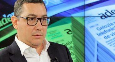 Ponta: Dacă nu pleacă Dragnea, se rupe PSD