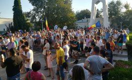 VIDEO/Am emigrat, dar nu am renunțat! Mitingul Diasporei a blocat bulevardele din Galați