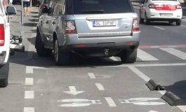 PAF a făcut o parcare praf pentru că atât îl duce capul
