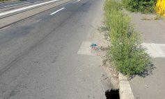 Viaductul gălăţean, pericol pentru şoferi. Reabilitarea aşteaptă buget de la autorităţi!