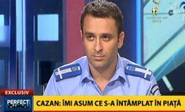 Laurenţiu Cazan, comandantul acţiunii jandarmilor în Piaţa Victoriei: Îmi asum tot ceea s-a întâmplat în Piaţă