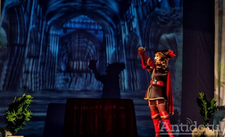 Motanul Încălţat îi aşteaptă pe cei mici la Teatrul Gulliver