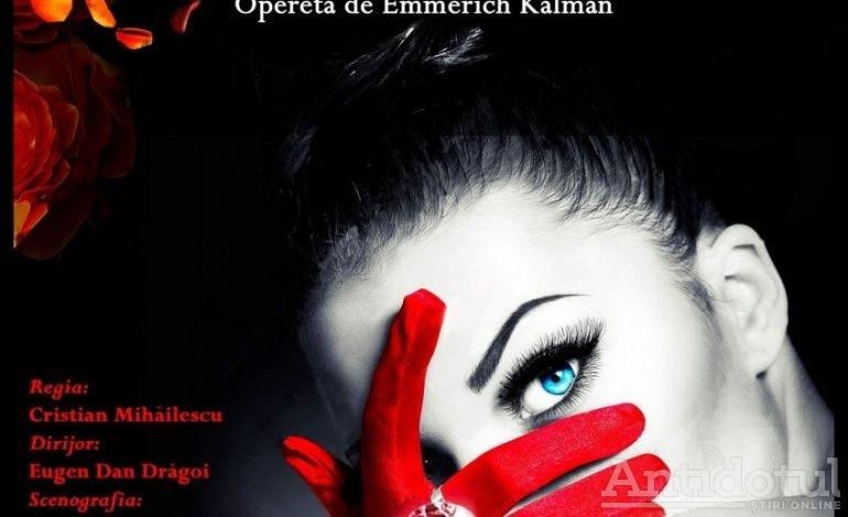 Contesa Maritza deschide stagiunea la Teatrul Național de Operă și Operetă Nae Leonard