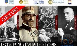 Liceenii din Buzău, provocaţi de Muzeul Judeţean la un concurs pe tema Unirii de la 1918. Câştigătorii vor fi de Ziua Naţională în Alba Iulia