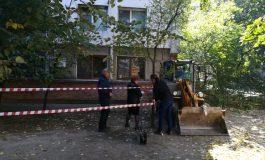 VIDEOREPORTAJ/ Gălățenii care locuiesc în blocul afectat de tasare, din Mazepa, nici nu vor să audă de mutarea care bate la ușă