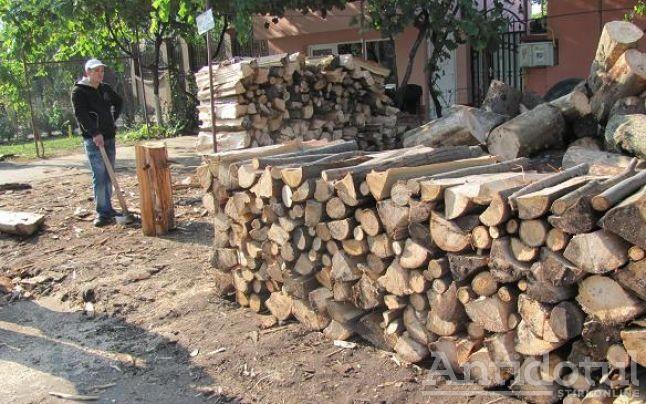 În lipsa microcentralelor de cartier, primăria distribuie lemne de foc