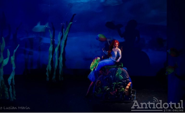 Mica Sirenă, în spectacol, la Teatrul Gulliver