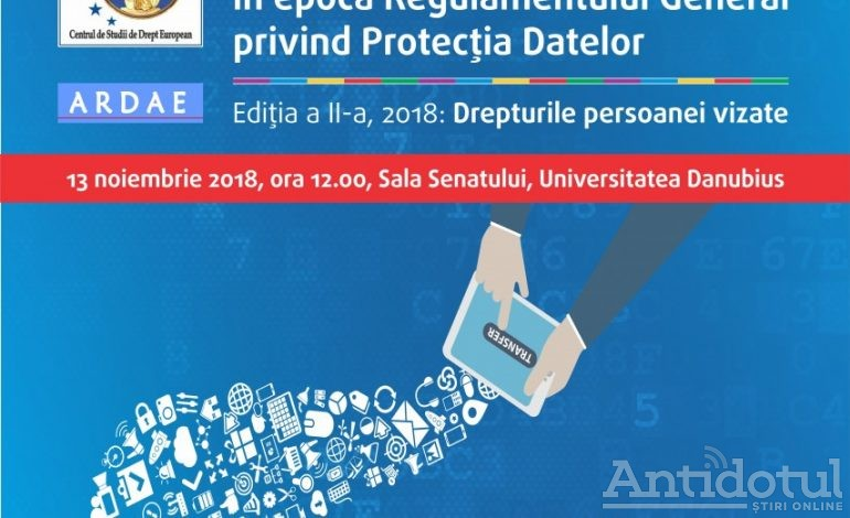 """Universitatea Danubius organizează conferința """"Comunități virtuale în epoca regulamentului genral privind protecția datelor"""""""