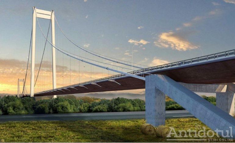 Podului de la Dunăre îi va crește un chiștoc de șosea