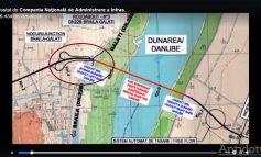 VIDEO/ O lucrare în erecție: în schița care prezintă viitorul pod peste Dunăre de la Brăila apare un organ sexual