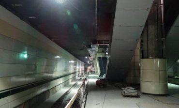 FOTO Cum arată staţiile de metrou de la Academia Militară şi Eroilor 2. Scările rulante lipsesc, iar şinele abia acum se montează