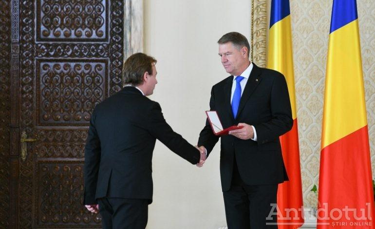 """Universitatea """"Dunărea de Jos"""" a fost decorată de Președinție cu Ordinul """"Meritul pentru Învățământ"""" în grad de Cavaler"""