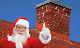 Moș Crăciunul copiilor din Franța are cazier și este din Galați