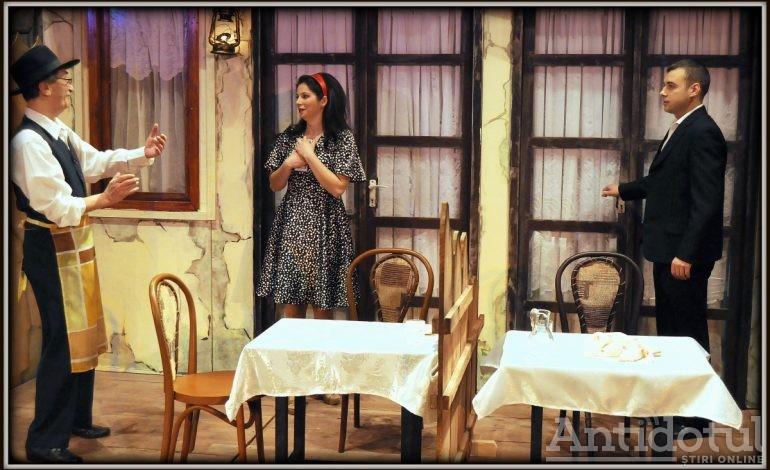 """Trei spectacole în primul weekend din februarie la Teatrul Dramatic """"Fani Tardini"""""""