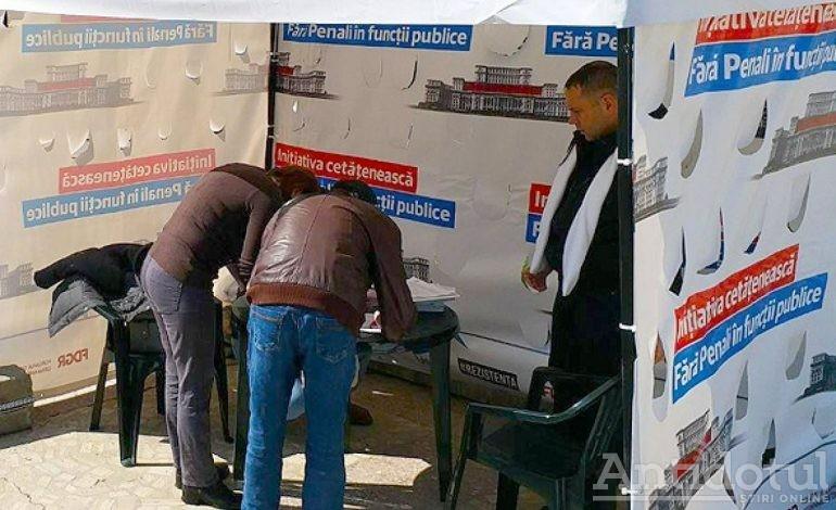 Culmea hoției: hoții din politică au furat semnăturile de pe listele Fără Penali