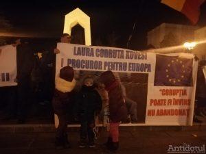 Protest la Galați