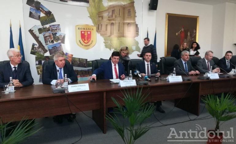 S-a semnat: centura orașului Galați va fi modernizată cu bani europeni