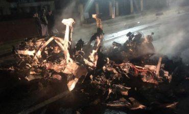 Accident mortal, marţi noapte, în Prahova. O maşină a ars în întregime