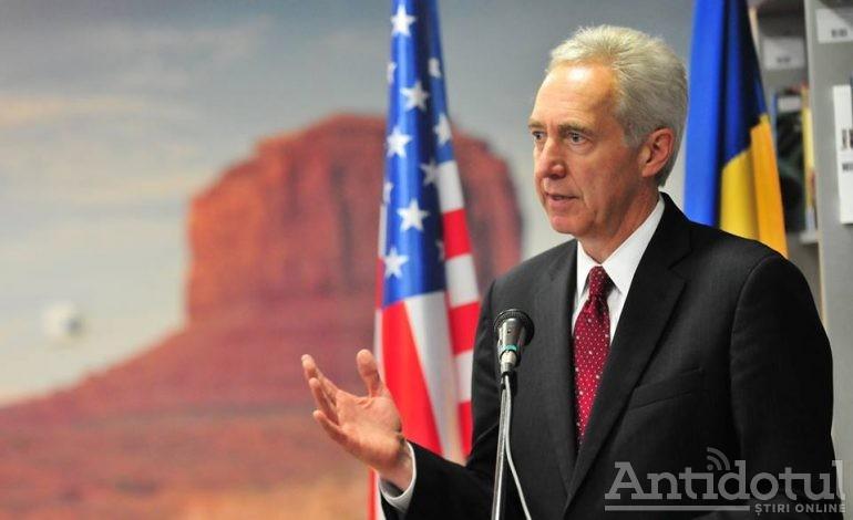 Ambasadorul SUA în România vine să vorbească cu studenții gălățeni