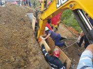 Bărbat îngropat de viu la Ungureni. Autoritățile fac anchetă