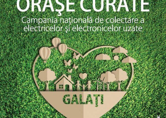 """Campania ECOTIC """"Orașe curate"""" ajunge la Galați"""