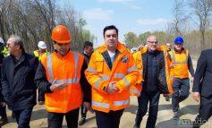Galerie foto/Podul peste Dunăre de la Brăila va fi gata peste exact trei ani