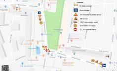 Vor fi restricții de trafic în weekend în orașul Galați. Vezi aici harta cu rutele ocolitoare