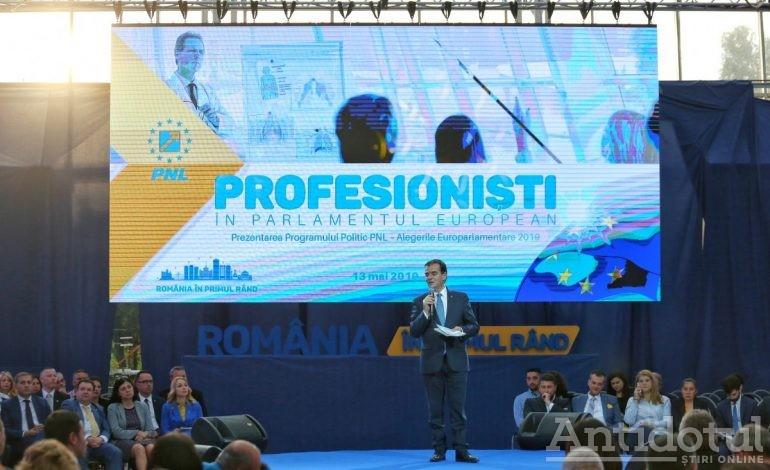 Programul PNL pentru europarlamentare – seriozitate și competență (P)